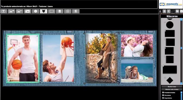 POner una máscara a tus fotos en el software iMoments