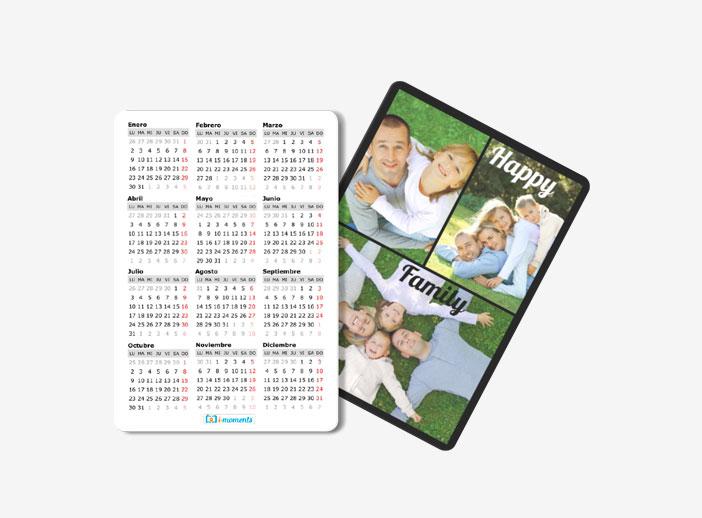 Calendario Cartera 7x10