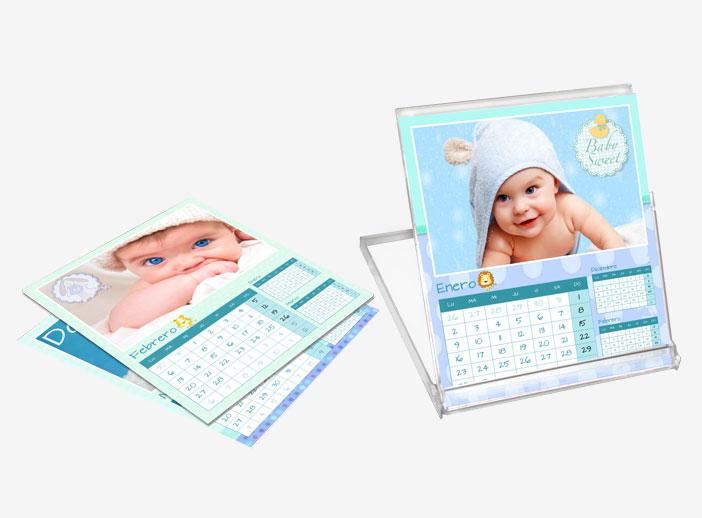 6534908f6 Foto 2 de 4 - Calendario Sobremesa CD 12x13 personalizado