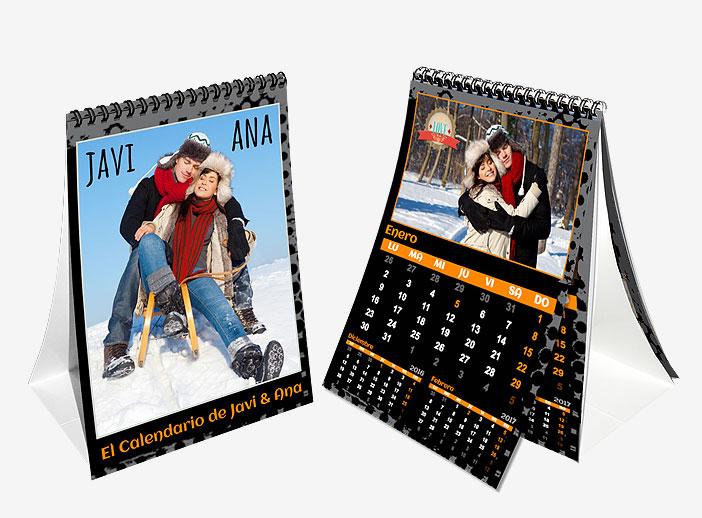 Calendario sobremesa A5 15x21 iMoments
