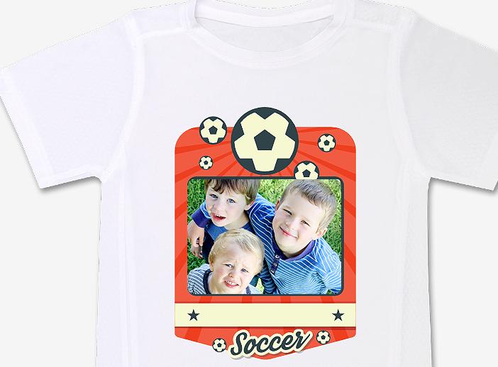 Camiseta técnica manga corta infantil fútbol