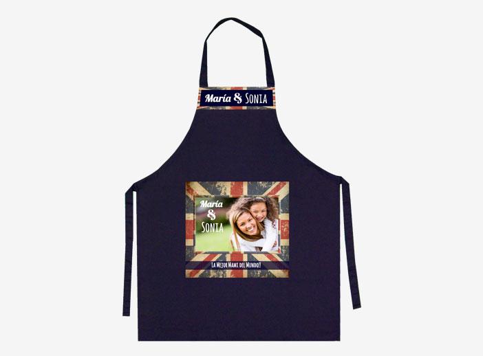 Delantales y gorro de cocinero personalizados con foto - Delantales y gorros de cocina para ninos ...