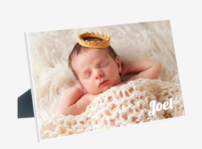 Foto-Panel de sobremesa marco con foto