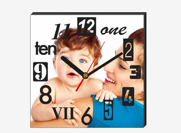 Foto reloj de pared personalizado