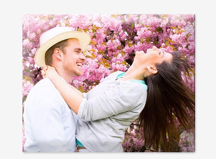 Foto póster acolchado con foto de pareja
